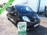 USED 2014 64 RENAULT TRAFIC 2.0 LL29 SPORT DCI  6 SEAT CREW VAN 115 BHP AIR CON SAT NAV CHOICE OF 4 CHOICE OF 4 IN STOCK 1 OWNER