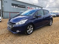 USED 2012 PEUGEOT 208 1.6 ALLURE E-HDI 5d 92 BHP