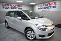 USED 2015 15 CITROEN C4 GRAND PICASSO 1.6 E-HDI VTR PLUS 5d 113 BHP Cheap Tax, DAB Radio, 1 Owner, Park sensors, Bluetooth