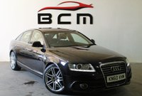 USED 2010 60 AUDI A6 2.0 TDI S LINE SPECIAL EDITION 4d AUTO 168 BHP