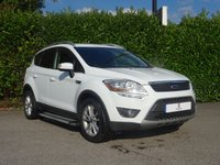 "USED 2012 62 FORD KUGA 2.0 ZETEC TDCI 2WD 5d 138 BHP Main Dealer Service History, Low Mileage, Side Steps, Front + Rear Parking Sensors, 17"" Alloy Wheels, Privacy + Tinted Glass, Climate Control, Chrome Roof Rails, Air Conditioning, Heated Front + Rear Screens, Spare Key, Drive Away In Under 1 Hour"