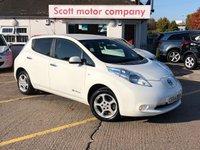 2014 NISSAN LEAF 0.0 Acenta 5 door Automatic 109 BHP £8999.00