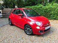2013 FIAT 500 0.9 S TWINAIR 3d 85 BHP £4989.00