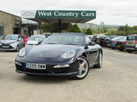USED 2009 PORSCHE BOXSTER 3.4 24V S 2d 310 BHP Well Equipped Sports Convertible