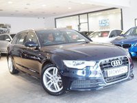 USED 2013 62 AUDI A6 AVANT 2.0 AVANT TDI S LINE 5d AUTO 175 BHP SAT NAV+HEATED LEATHER+FSH