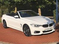 2015 BMW 4 SERIES 3.0 435D XDRIVE M SPORT 2d AUTO 309 BHP £26990.00