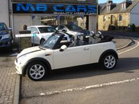 2007 MINI CONVERTIBLE 1.6 COOPER 2d AUTO 118 BHP £SOLD