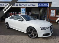 USED 2014 14 AUDI A5 1.8 TFSI S LINE BLACK EDITION 2d 168 BHP