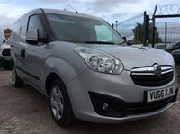 USED 2016 66 VAUXHALL COMBO VAN 1.3 2000 L1H1 CDTI S/S SPORTIVE 90 BHP 1 OWNER FSH MANUFACTURER'S WARRANTY SPARE KEY TWIN SIDE LOADING DOOR ELECTRIC WINDOWS REAR PARKING SENSORS