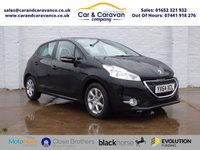 USED 2014 64 PEUGEOT 208 1.2 ACTIVE 5d 82 BHP Service History Bluetooth DAB Buy Now, Pay in 2 Months!