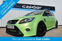 2009 FORD FOCUS 2.5 RS 3d 400 BHP £19450.00