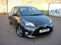 USED 2015 15 TOYOTA YARIS 1.5 HYBRID ICON 5d AUTO 73 BHP ANY PART EXCHANGE WELCOME, COUNTRY WIDE DELIVERY ARRANGED, HUGE SPEC