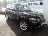 2012 LAND ROVER RANGE ROVER 4.4 TDV8 WESTMINSTER 5d AUTO 313 BHP £24995.00