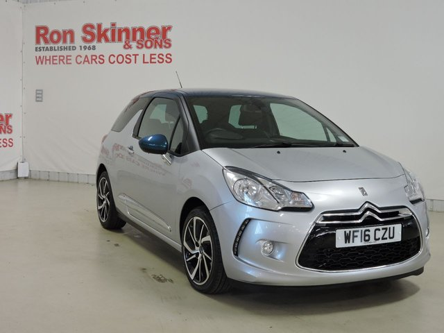 View our 2016 16 DS DS 3 1.2 PURETECH DSTYLE NAV S/S 3d 109 BHP