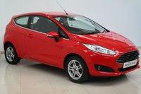 2013 FORD FIESTA 1.6 ZETEC 3d AUTO 104 BHP £6542.00