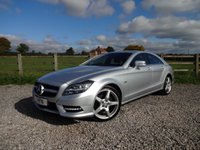 USED 2012 12 MERCEDES-BENZ CLS CLASS 3.0 CLS350 CDI SPORT AMG 4d AUTO 265 BHP OVER £5000 OF OPTIONS WITH FULL MERCEDES SERVICE HISTORY