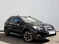 USED 2014 14 SUBARU XV 2.0 D BLACK 5d 145 BHP BLACK EDITION with REVERSING CAMERA, HEATED SEATS & MUCH MORE.......
