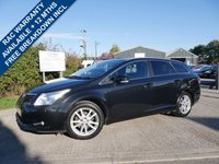 USED 2010 10 TOYOTA AVENSIS 1.8 TR VALVEMATIC 5d 145 BHP REVERSING CAMERA, FULL SERVICE HISTORY, SAT NAV, CRUISE CONTROL