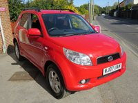 USED 2007 07 DAIHATSU TERIOS 1.5 SE 5d AUTO 104 BHP RARE AUTOMATIC LOW MILEAGE, 4WD..FINANCE ME TODAY-UK DELIVERY POSSIBLE