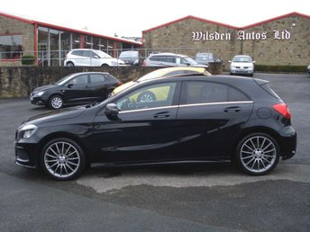 2014 MERCEDES-BENZ A CLASS 1.5 A180 CDI BLUEEFFICIENCY AMG SPORT 7G-DCT 5d AUTO 109 BHP £13999.00