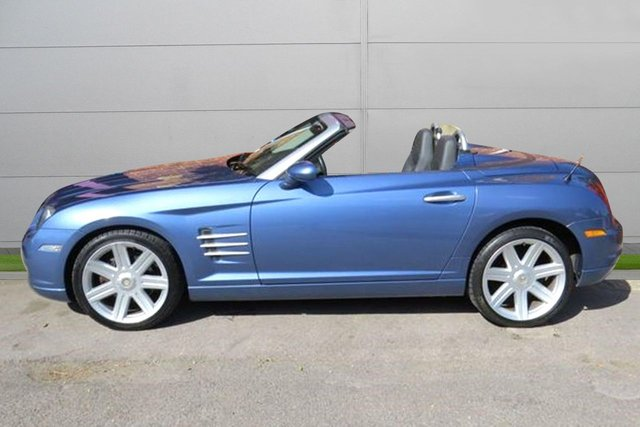 USED 2005 05 CHRYSLER CROSSFIRE 3.2 V6 2d AUTO 215 BHP AUTOMATIC LOW MILEAGE, MANY EXTRAS.FINANCE ME TODAY-UK DELIVERY POSSIBLE