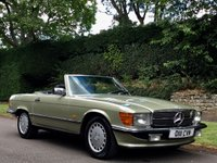 USED 1986 D MERCEDES-BENZ SL 420SL R107 MODEL 4.2 V8 AUTO. GREAT CLASSIC INVESTMENT. GREAT INVESTMENT. RARE CLASSIC.
