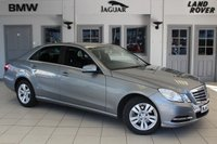 USED 2013 62 MERCEDES-BENZ E CLASS 2.1 E200 CDI BLUEEFFICIENCY S/S SE 4d 136 BHP FULL BLACK LEATHER SEATS + F S H + BLUETOOTH + 16 INCH ALLOYS + HEATED FRONT SEATS + CRUISE CONTROL + AIR CONDITIONING