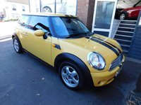 USED 2007 56 MINI HATCH COOPER 1.6 COOPER 3d 118 BHP