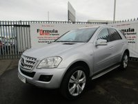 USED 2011 11 MERCEDES-BENZ M CLASS 3.0 ML300 CDI BlueEFFICIENCY Sport 5dr FULL MOT+SAT NAV+20' ALLOYS