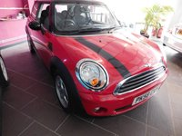 2008 MINI HATCH ONE 1.4 ONE 3d 94 BHP £3499.00