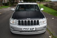 USED 2007 57 JEEP GRAND CHEROKEE 3.0 V6 CRD OVERLAND 5d AUTO 215 BHP SATELLITE NAVIGATION, HEATED SEATS, CRUISE CONTROL, SUNROOF, WELL MAINTAINED