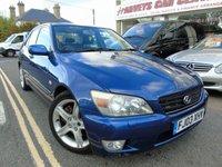2003 LEXUS IS 2.0 200 SE 4d AUTOMATIC 153 BHP £1295.00