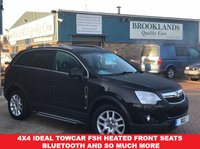 2012 VAUXHALL ANTARA 2.2 EXCLUSIV CDTI Carbon Black 161 BHP Sold by us once before  £5995.00