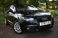 2011 AUDI A1 1.4 TFSI SPORT 3d 122 BHP £8480.00