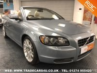USED 2008 08 VOLVO C70 2.0D SE LUX NAV CONVERTIBLE 6 SPEED DIESEL UK DELIVERY* RAC APPROVED* FINANCE ARRANGED* PART EX