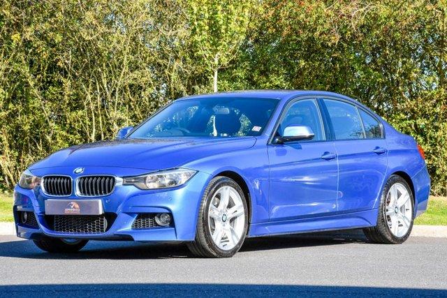 2013 13 BMW 3 SERIES 2.0 325D M SPORT 4d 215 BHP