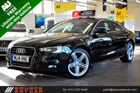 USED 2014 14 AUDI A5 2.0 TDI S LINE S/S 2d 177 BHP + FULL AUDI SERVICE HISTORY / FREE LIFETIME WARRANTY / 12 MONTHS MOT +