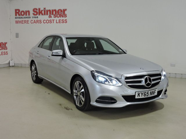 View our 2015 65 MERCEDES-BENZ E-CLASS 2.1 E220 BLUETEC SE 4d AUTO 174 BHP