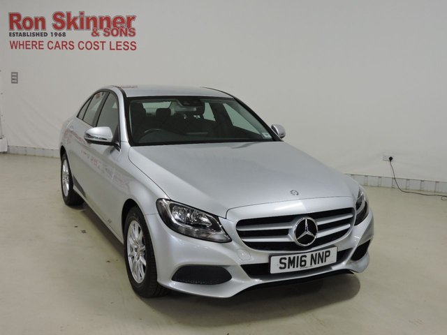 View our 2016 16 MERCEDES-BENZ C-CLASS 2.1 C220 D SE 4d 170 BHP