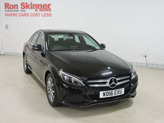 View our 2016 16 MERCEDES-BENZ C-CLASS 2.1 C220 D SPORT 4d AUTO 170 BHP