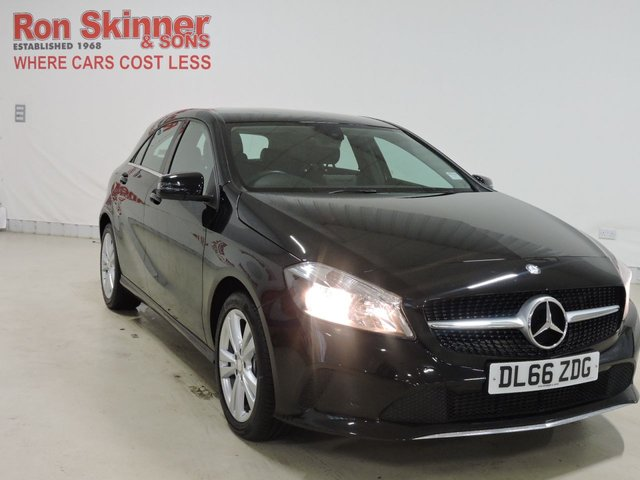View our 2016 66 MERCEDES-BENZ A-CLASS 1.5 A 180 D SPORT 5d AUTO 107 BHP
