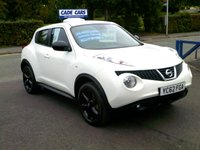 USED 2012 62 NISSAN JUKE 1.5 ACENTA DCI 5d 110 BHP CADE CARS LTD. Established for over 25 years.