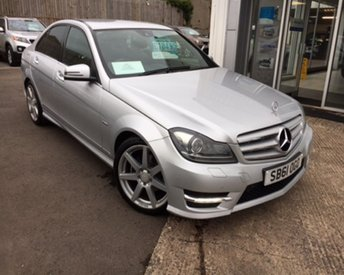 2012 MERCEDES-BENZ C CLASS 1.8 C180 BLUEEFFICIENCY SPORT 4d AUTO 155 BHP £10495.00
