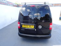 USED 2014 14 VOLKSWAGEN CADDY 1.6 C20 TDI BMT HIGHLINE 1d 101 BHP VW CADDY HIGHLINE WITH AIR CON AND ELECTRIC PACK