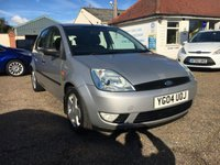 USED 2004 04 FORD FIESTA 1.4 FLAME 16V 5d 80 BHP 12 MONTH MOT / EXCELLENT MILEAGE
