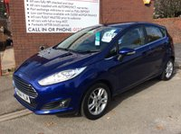 USED 2014 64 FORD FIESTA 1.2 ZETEC 5d 81 BHP **ZERO DEPOSIT FINANCE AVAILABLE** PART EXCHANGE WELCOME
