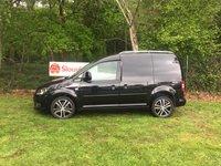 USED 2015 15 VOLKSWAGEN CADDY 1.6 C20 TDI BLACK EDITION BLUEMOTION  Air Conditioning, Black Edition, Parking Sensors