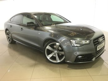 2015 AUDI A5 2.0 TDI S LINE BLACK EDITION PLUS 5d 187 BHP £17490.00