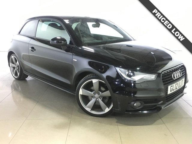 View our 2012 12 AUDI A1 2.0 TDI S LINE BLACK EDITION 3d 143 BHP
