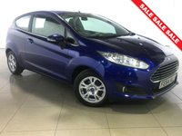 USED 2014 64 FORD FIESTA 1.6 ZETEC ECONETIC TDCI 3d 94 BHP 1 Owner/Air Con